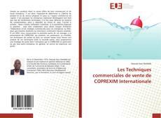 Bookcover of Les Techniques commerciales de vente de COPREXIM Internationale