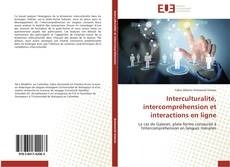 Couverture de Interculturalité, intercompréhension et interactions en ligne