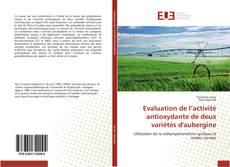 Bookcover of Evaluation de l'activité antioxydante de deux variétés d'aubergine