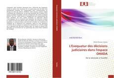 Buchcover von L'Exequatur des décisions judiciaires dans l'espace OHADA