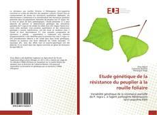Bookcover of Etude génétique de la résistance du peuplier à la rouille foliaire