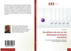 Couverture de Conditions de vie sur les décharges et risques sanitaires