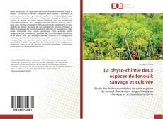 Portada del libro de La phyto-chimie deux espèces de fenouil: sauvage et cultivée