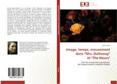 """Copertina di Image, temps, mouvement dans """"Mrs. Dalloway"""" et """"The Hours"""""""