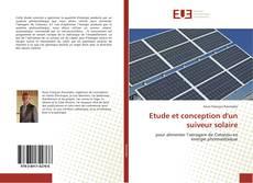 Couverture de Etude et conception d'un suiveur solaire