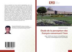 Bookcover of Étude de la perception des français concernant l'Iran
