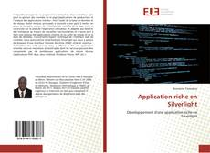Couverture de Application riche en Silverlight
