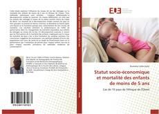 Bookcover of Statut socio-économique et mortalité des enfants de moins de 5 ans