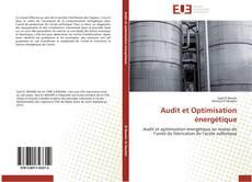 Couverture de Audit et Optimisation énergétique