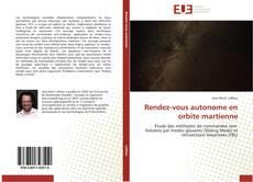 Bookcover of Rendez-vous autonome en orbite martienne