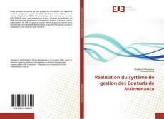 Bookcover of Réalisation du système de gestion des Contrats de Maintenance