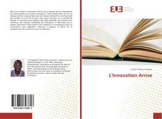 Couverture de L'Innovation Arrive