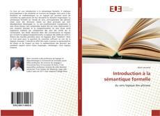 Couverture de Introduction à la sémantique formelle