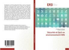 Buchcover von Sécurité et QoS en environnement IMS