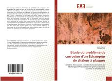 Copertina di Etude du problème de corrosion d'un Échangeur de chaleur à plaques