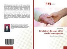 Buchcover von Limitation de soins et fin de vie aux urgences