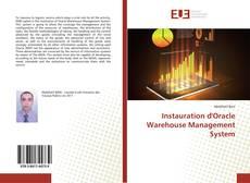 Обложка Instauration d'Oracle Warehouse Management System