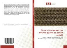 Etude et traitement des défauts qualité du carton ondulé kitap kapağı