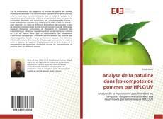 Buchcover von Analyse de la patuline dans les compotes de pommes par HPLC/UV