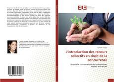 Capa do livro de L'introduction des recours collectifs en droit de la concurrence