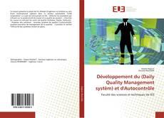 Portada del libro de Développement du (Daily Quality Management systèm) et d'Autocontrôle
