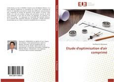 Capa do livro de Etude d'optimisation d'air comprimé