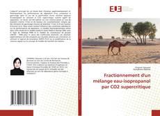 Bookcover of Fractionnement d'un mélange eau-isopropanol par CO2 supercritique