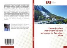 Capa do livro de Enjeux juridico-institutionnels de la métropole de Grenoble-Alpes
