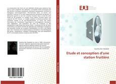 Обложка Etude et conception d'une station fruitière