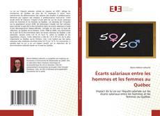 Portada del libro de Écarts salariaux entre les hommes et les femmes au Québec
