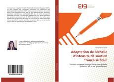 Bookcover of Adaptation de l'échelle d'intensité de soutien française SIS-F