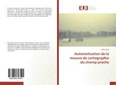 Bookcover of Automatisation de la mesure de cartographie du champ proche