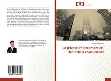 Capa do livro de Le private enforcement en droit de la concurrence