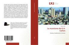 Capa do livro de Le marxisme de G.A. Cohen