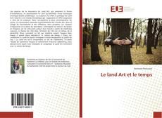 Buchcover von Le land Art et le temps