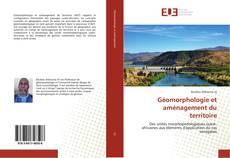 Couverture de Géomorphologie et aménagement du territoire