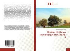 Modèles d'inflation cosmologique branaire RS-II的封面