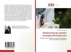 Couverture de Biodiversité des abeilles sauvages Afrotropicales