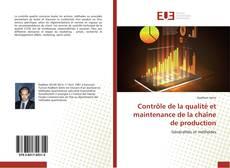Capa do livro de Contrôle de la qualité et maintenance de la chaîne de production