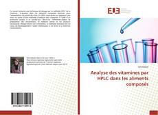 Обложка Analyse des vitamines par HPLC dans les aliments composés