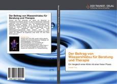 Couverture de Der Beitrag von Wassershiatsu für Beratung und Therapie