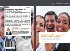 Capa do livro de Erfolgreiches Management im internationalen Kontext