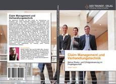 Claim Management und Verhandlungstechnik的封面