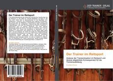 Buchcover von Der Trainer im Reitsport