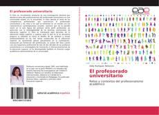 Bookcover of El profesorado universitario