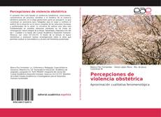 Bookcover of Percepciones de violencia obstétrica