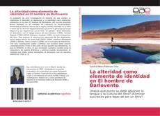 Capa do livro de La alteridad como elemento de identidad en El hombre de Barlovento