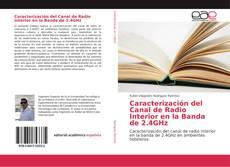Portada del libro de Caracterización del Canal de Radio Interior en la Banda de 2.4GHz