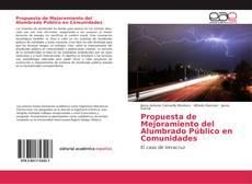 Capa do livro de Propuesta de Mejoramiento del Alumbrado Público en Comunidades