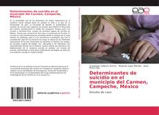 Determinantes de suicidio en el municipio del Carmen, Campeche, México的封面